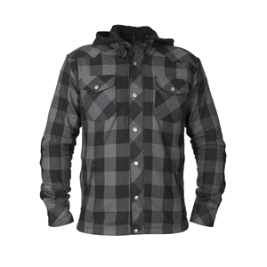 Bullfighter Flannel Skjorte Black/Grey