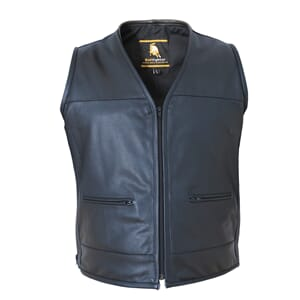 Bullfighter Buffalo Skinnvest Black