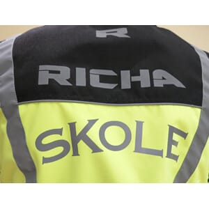 Richa Sleevless Jacket Fluo/Gul m/Skole