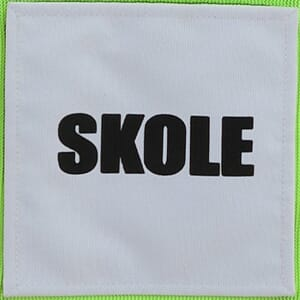 Skole Patch m/Borrelås