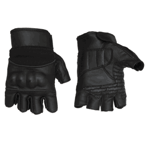 Bullfighter Fingerless Sport Hanske Black