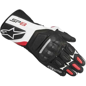 Alpinestars SP-8 V2 Glove Black/White/Red