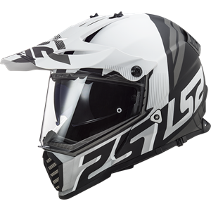 LS2 MX436 Pioneer Evo Evolve White/Black