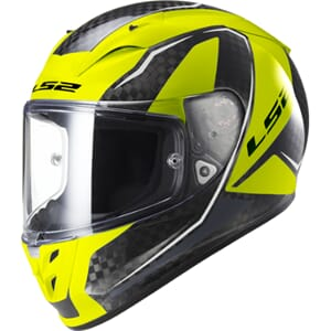 LS2 FF323 Arrow Fury Carbon Hi Vis YELLOW