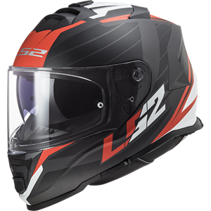 LS2 FF800 Storm Nerve Black/Red