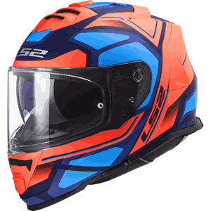 LS2 FF800 Storm Faster Orange/Blue
