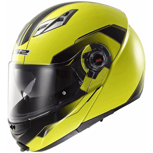 LS2 FF370 Shadow Hi-Vis Yellow