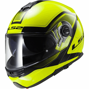 LS2 FF325 strobe CIVIK Hi Vis Yellow