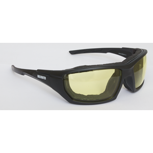 Bullfighter Solbrille Sort Ramme / Gult glass